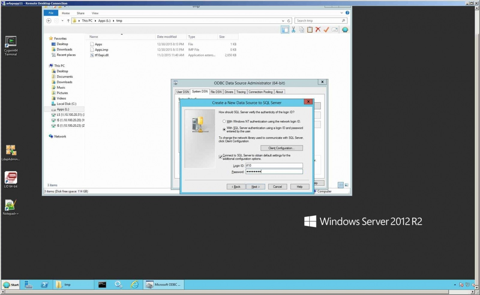 Installing BSI TaxFactory 10 for Your New Lawson 10 Environment-12