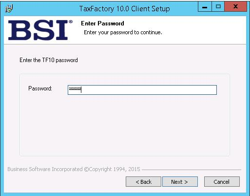 Installing BSI TaxFactory 10 for Your New Lawson 10 Environment-22