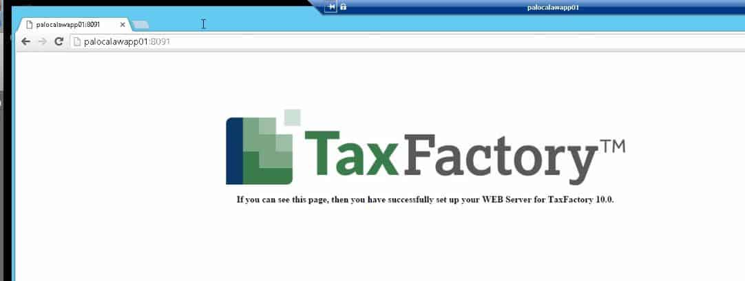 Installing BSI TaxFactory 10 for Your New Lawson 10 Environment-35