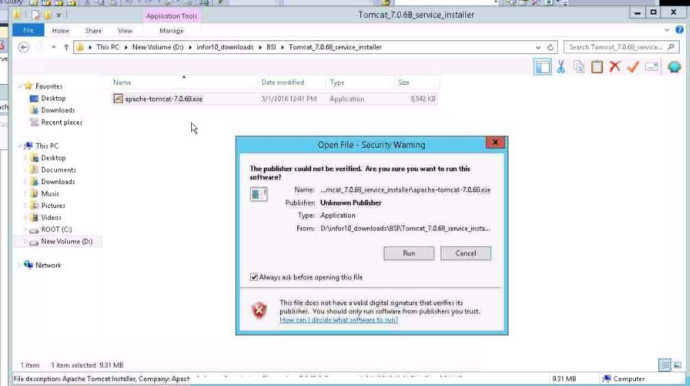 Installing BSI TaxFactory 10 for Your New Lawson 10 Environment-47
