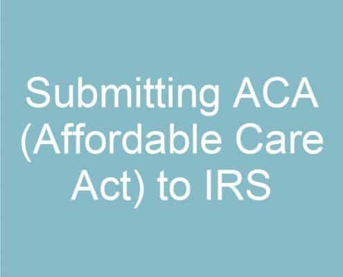 Submitting-ACA-(Affordable Care Act)-to-IRS